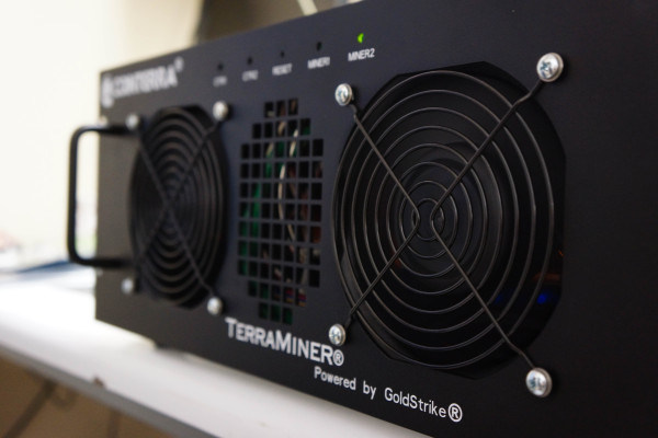 A real, working TerraMiner IV makes its world debut!